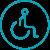 Accesos movilidad reducida / accessos mobilitat reduida
