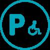 Plaza movilidad reducida / Places mobilitat reuïda