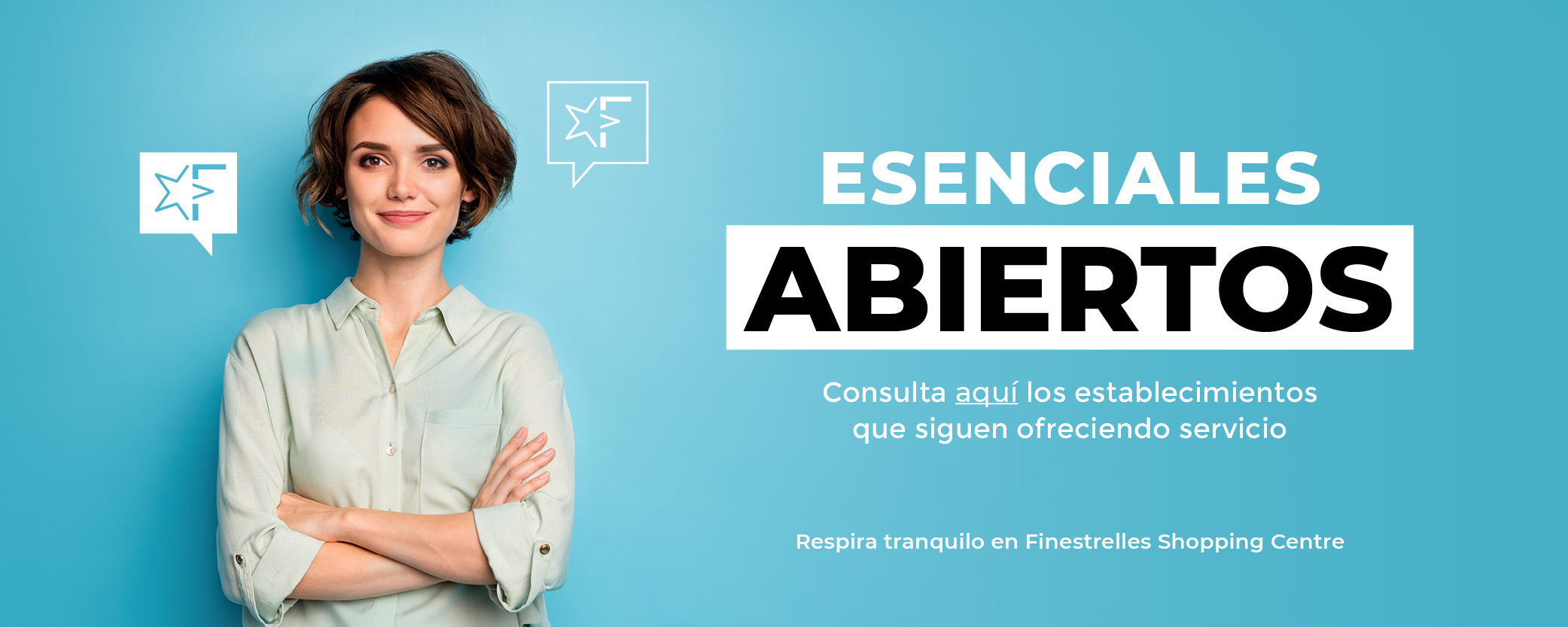 Esenciales abiertos en Finestrelles Shopping Centre